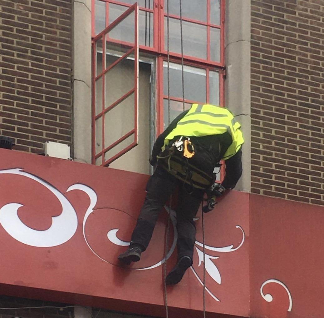 High Level Glazing Repair – Birmingham