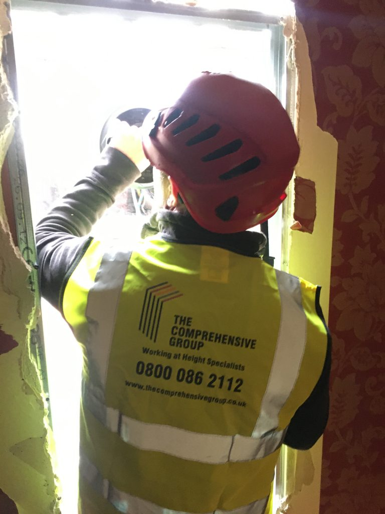 The Comprehensive Group High Level Window Repair