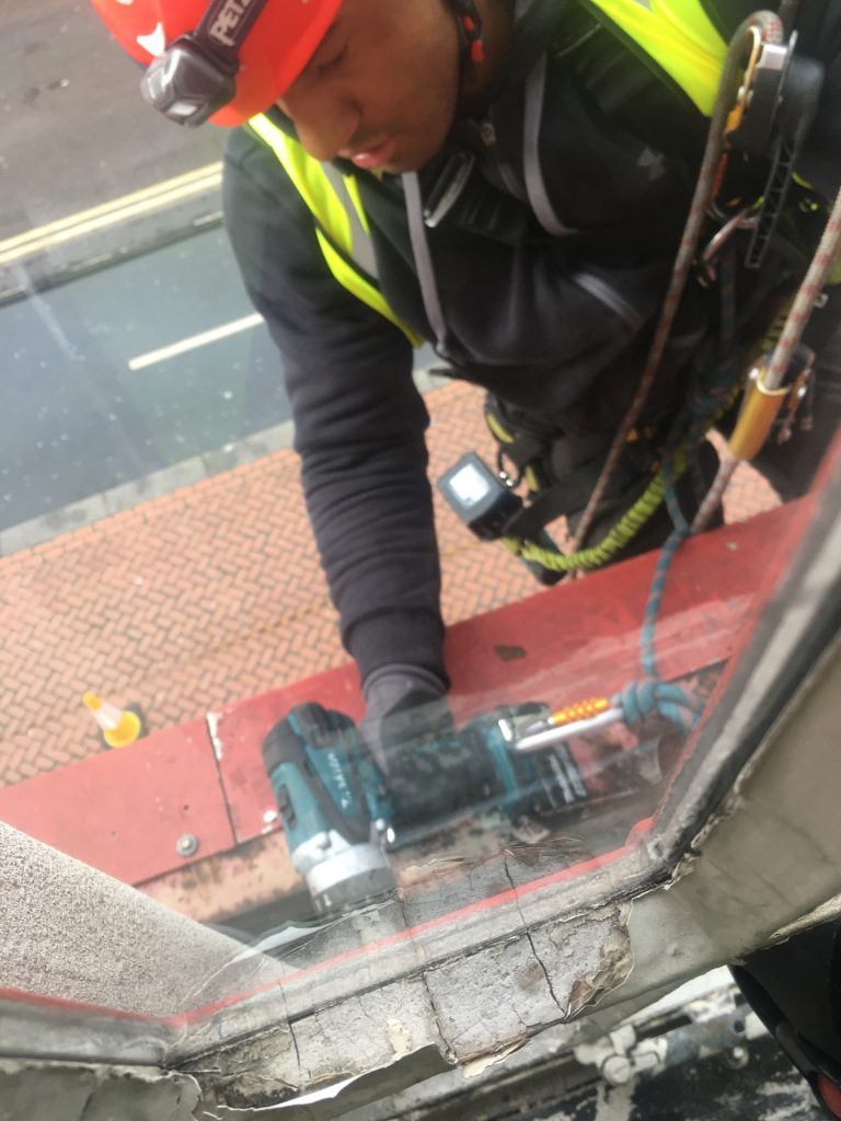 High Level Window Repair By The Comprehensive Group