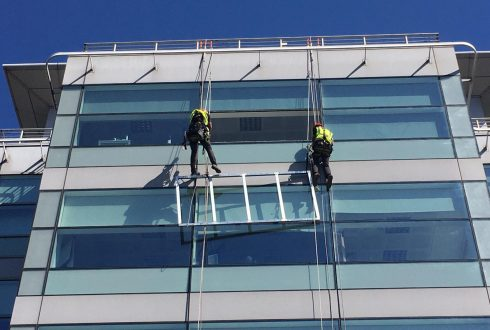 High Level Sign Installation – Leeds