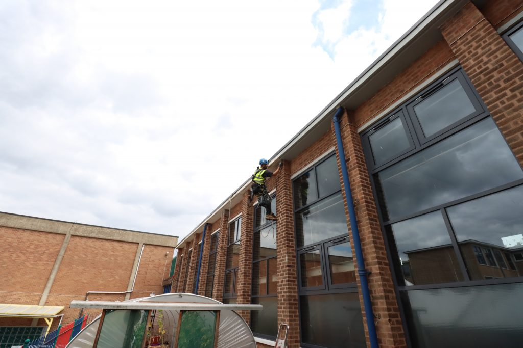 School Glazing Restoration Works TCG