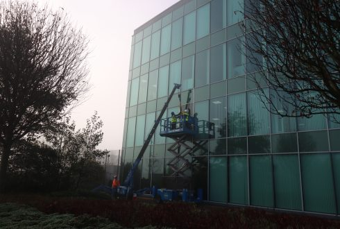 Glazed Curtain Wall Repair – Newcastle