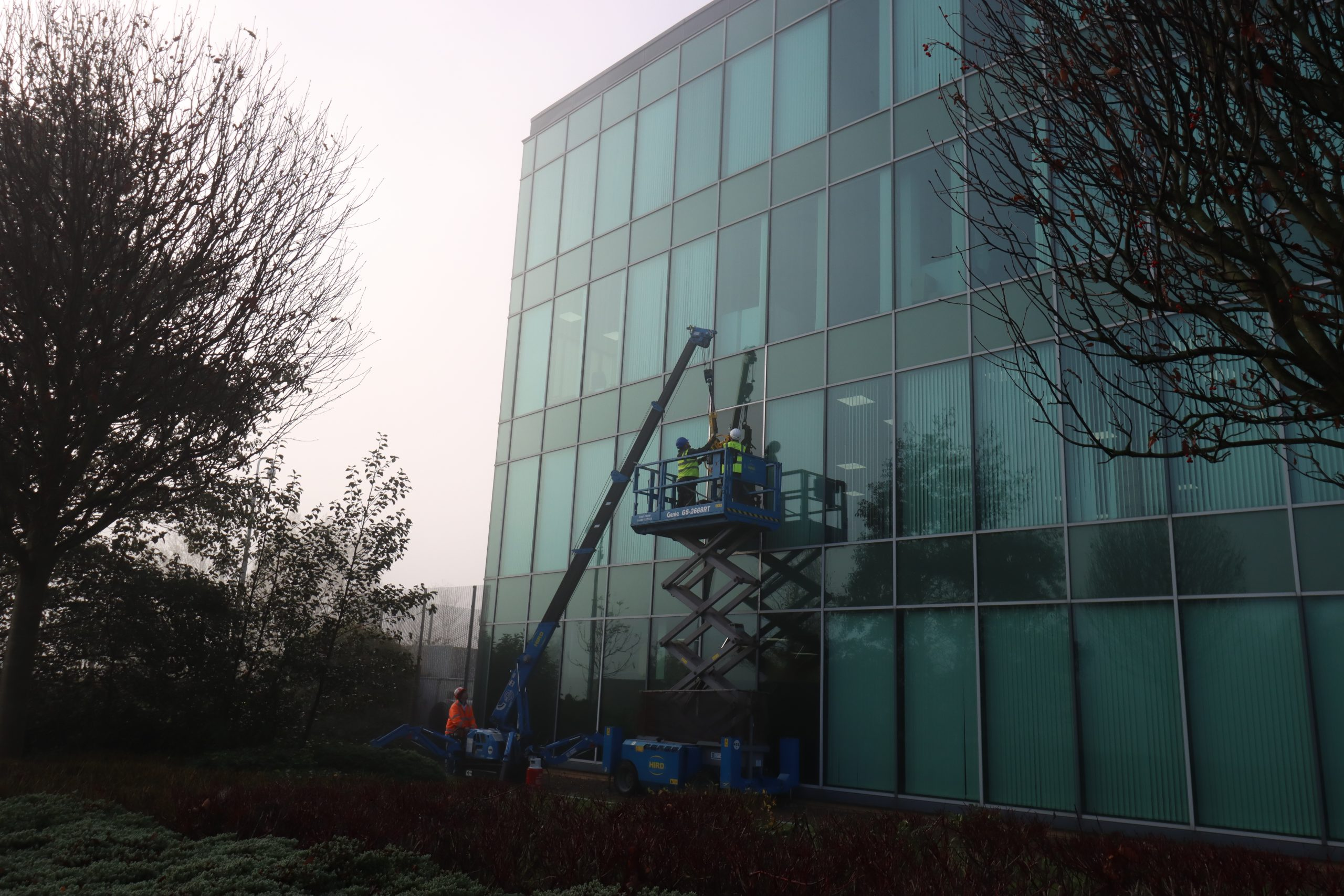 Glazed Curtain Wall Repair – Newcastle upon Tyne