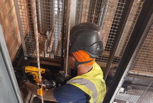Lift Shaft Repair – Leeds