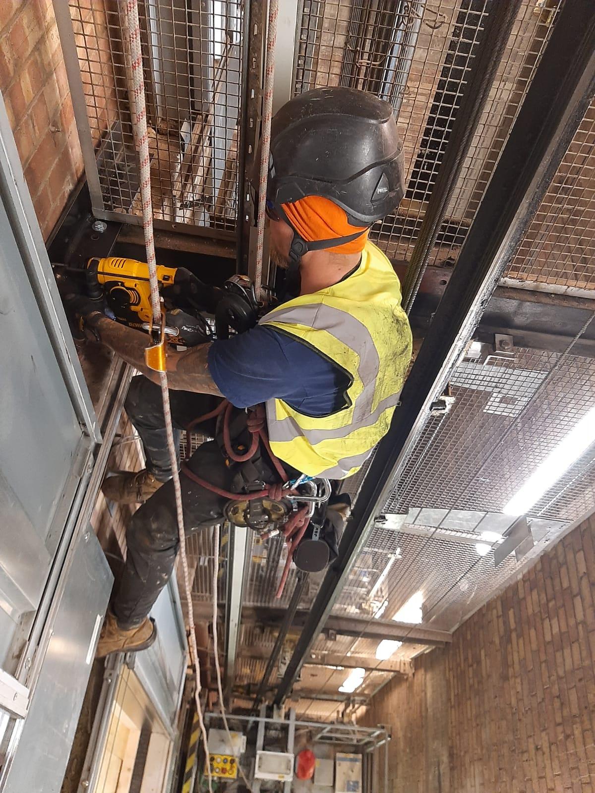 Lift Shaft Repair – Leeds
